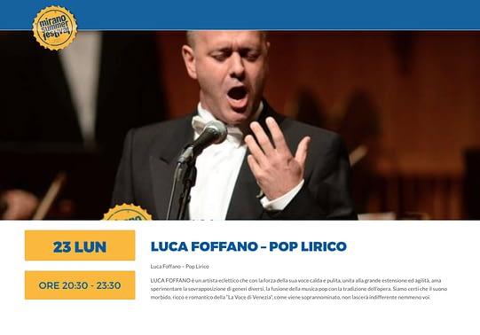 MIRANO LUCA FOFFANO